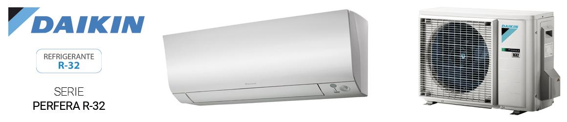 Aire acondicionado SPLIT de Daikin - Serie Perfera R32