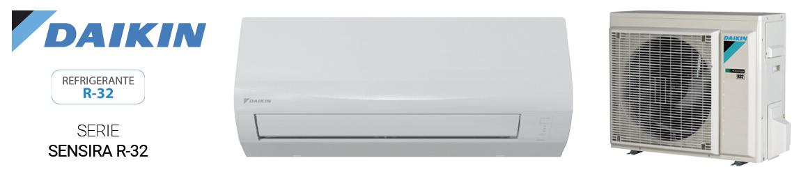 Aire acondicionado SPLIT de Daikin - Serie Sensira R32