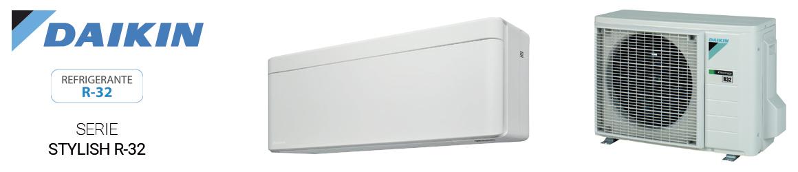 Aire acondicionado SPLIT de Daikin - Serie Stylish R32