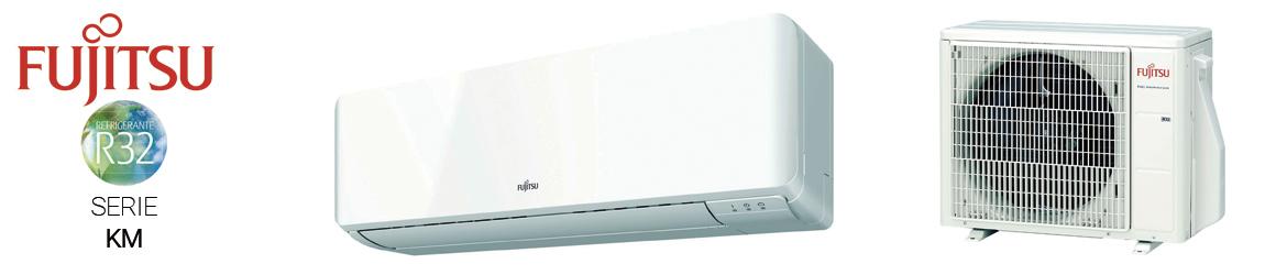 Aire acondicionado SPLIT de Fujitsu - Serie KM R32
