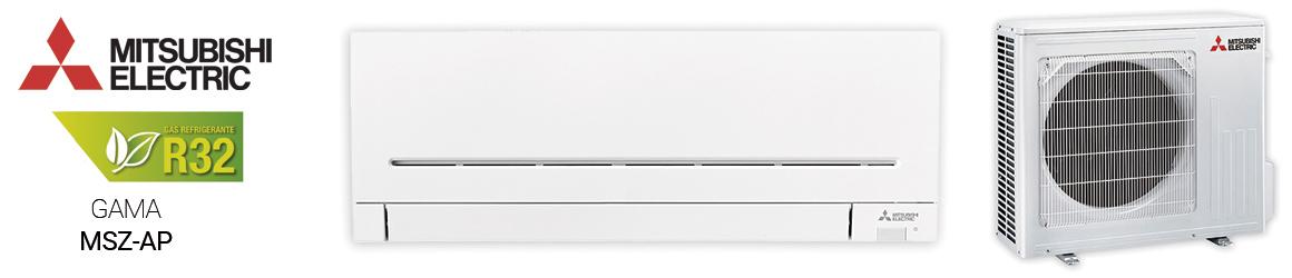 Aire acondicionado SPLIT de Mitsubishi Electric- Gama MSZ-AP